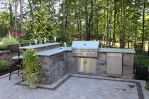 Outdoor Grill Island, Patio, design, Scovills landscape, landscape design, landscaping, landscapes, landscape patio design