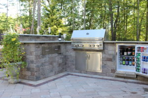 Outdoor Grill Island, Patio, design, Scovills landscape, landscape design, landscaping, landscapes, landscape patio design
