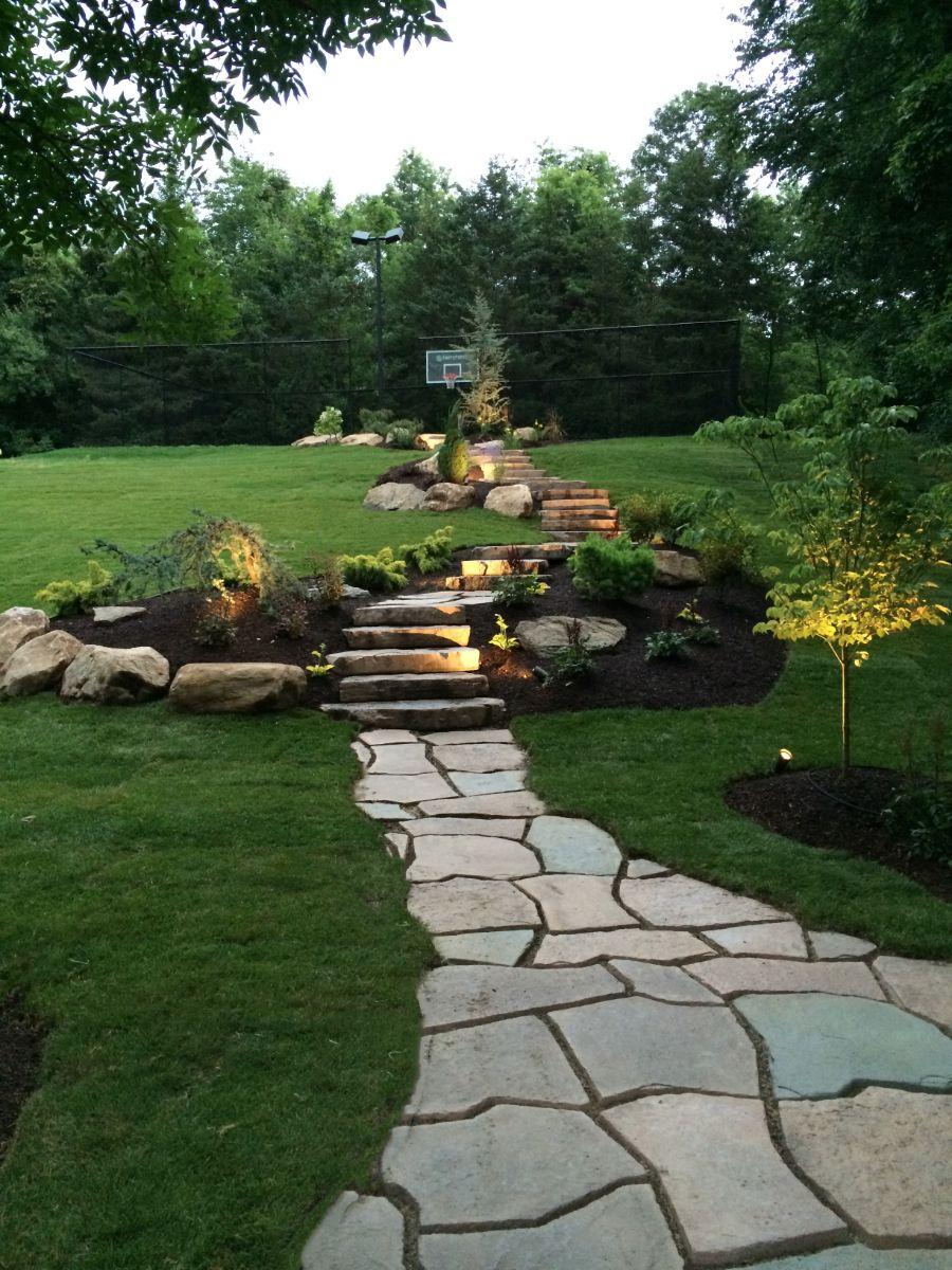 walkways walls u0026 steps scovill landscape design u0026 nursery