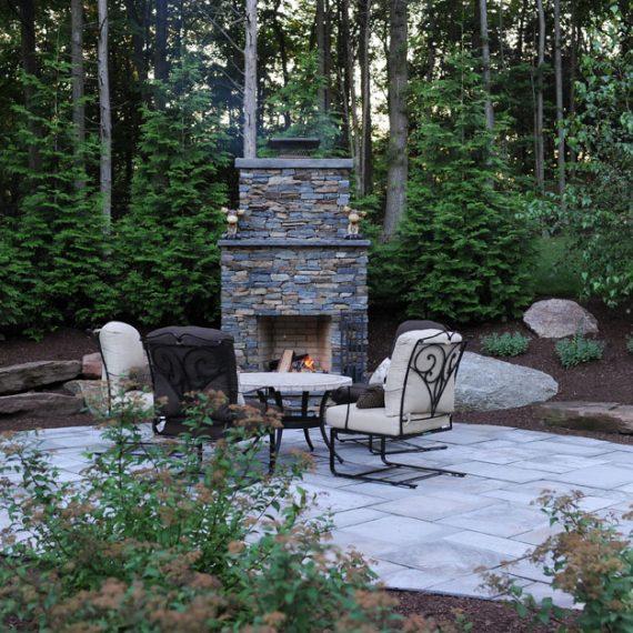 outdoor fire place patio design scovills landscape landscape design landscaping - Landscape Patio Design